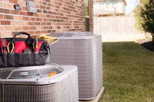 heat pump system newly installed in home in west county mo
